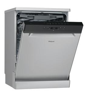 Whirlpool dishwasher: inox color, full size - WFC 3C26 F X