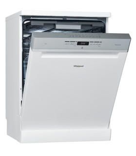 Whirlpool dishwasher: white color, full size - WFO 3T123 PL 60HZ