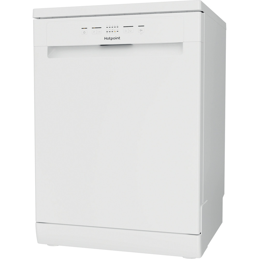 Hotpoint Dishwasher Free-standing HFE 2B+26 C N UK Free-standing E Perspective