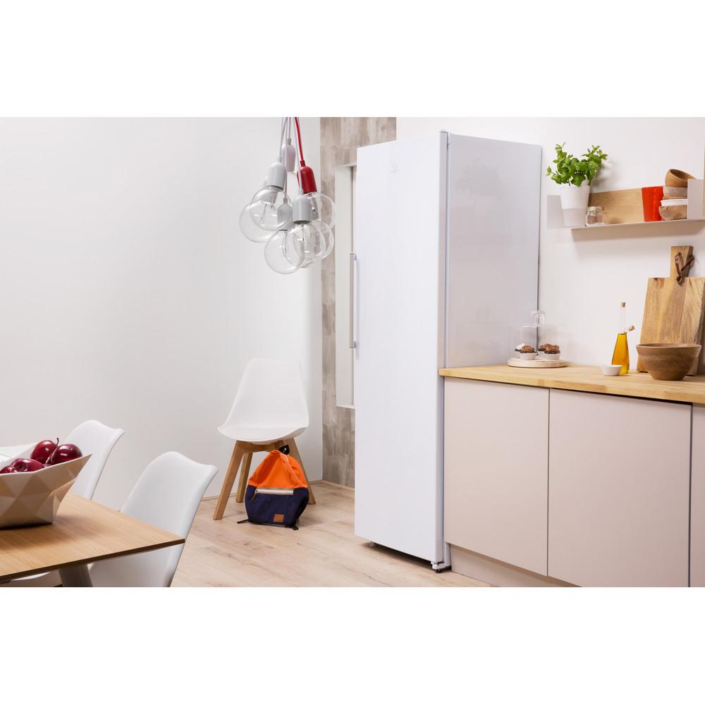 Indesit Réfrigérateur Pose-libre SI8 1Q WD Blanc Lifestyle perspective