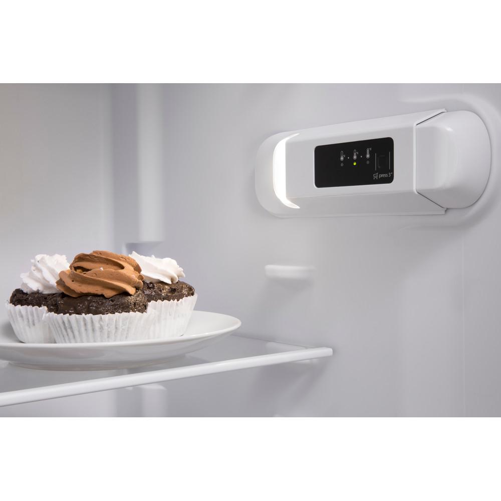 Indesit Refrigerator Free-standing SI8 1Q WD UK 1 Global white Lifestyle control panel