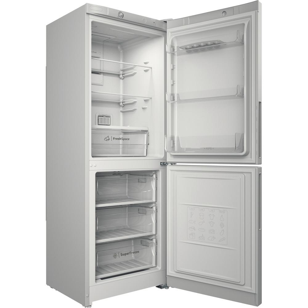 Indesit Холодильник с морозильной камерой Отдельностоящий ITD 4160 W Белый 2 doors Perspective open