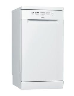 Whirlpool mosogatógép: fehér szín, keskeny - WSFE 2B19