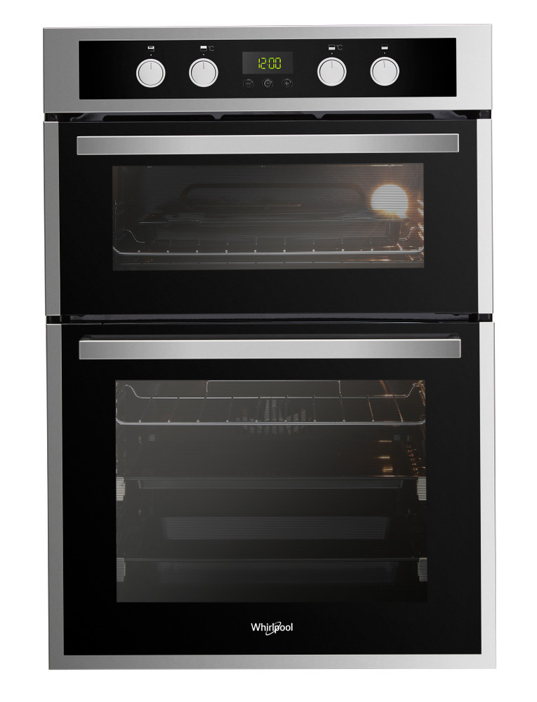Whirlpool Double oven AKL 309 IX Inox A Frontal