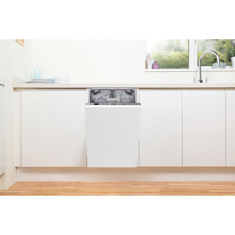 Indesit Umývačka riadu Vstavané DSIO 3T224 Z E Full-integrated E Lifestyle frontal