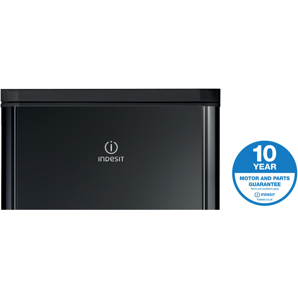 Indesit Fridge-Freezer Combination Free-standing IBD 5517 B UK 1 Black 2 doors Award