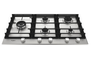 Placa a gás da Whirlpool: 5 Queimadores - GMW 9552/IXL