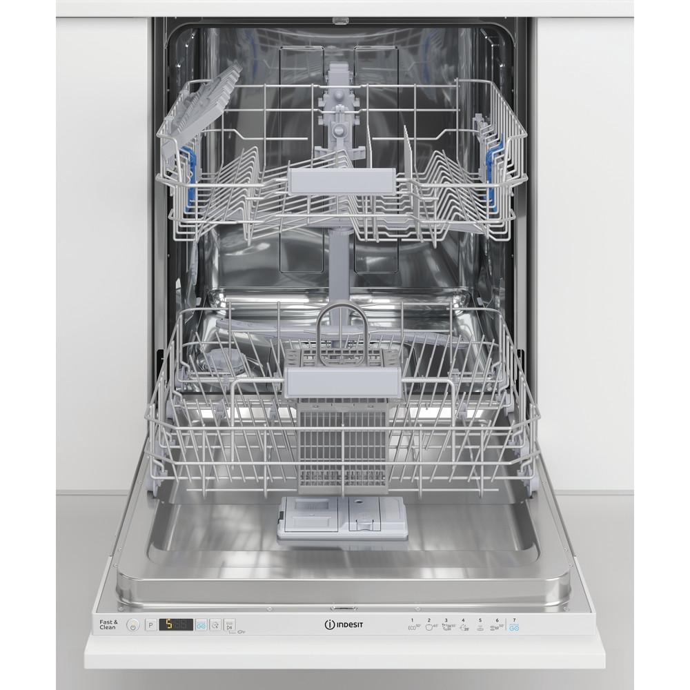 Indesit Lave-vaisselle Encastrable DIC 3B+16 A S Tout intégrable F Lifestyle frontal open