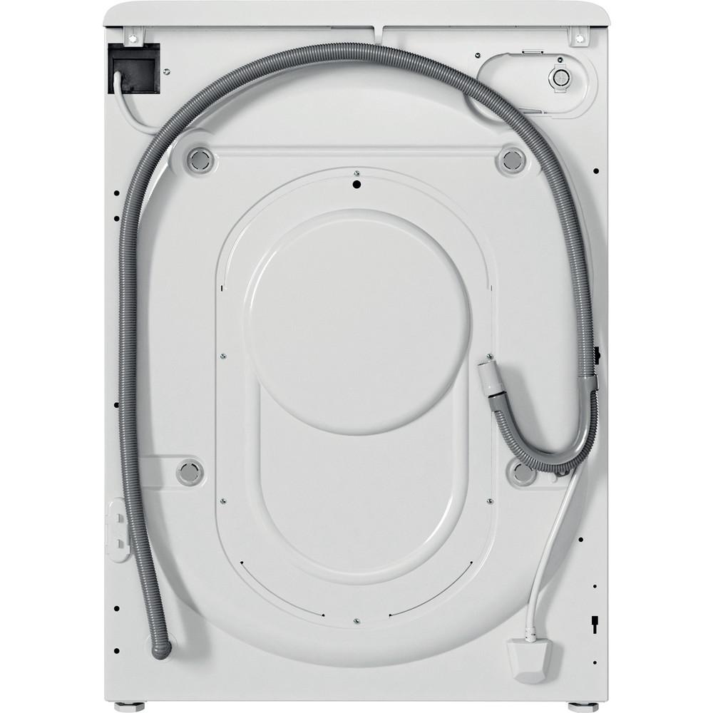 Indesit Lavadora secadora Libre instalación BDE 861483X WS SPT N Blanco Cargador frontal Back / Lateral