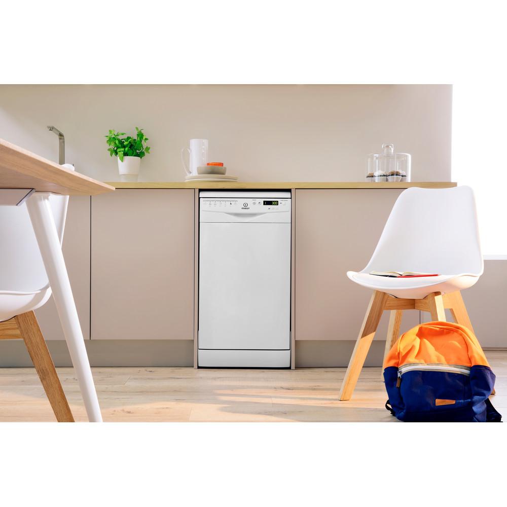 Indesit Посудомоечная машина Отдельно стоящий DSR 57M19 A EU Отдельно стоящий A Lifestyle frontal