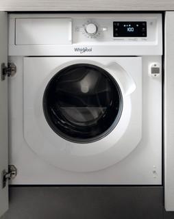 Máquina de lavar e secar roupa encastrável da Whirlpool: 7 kg - BI WDWG 75148 EU