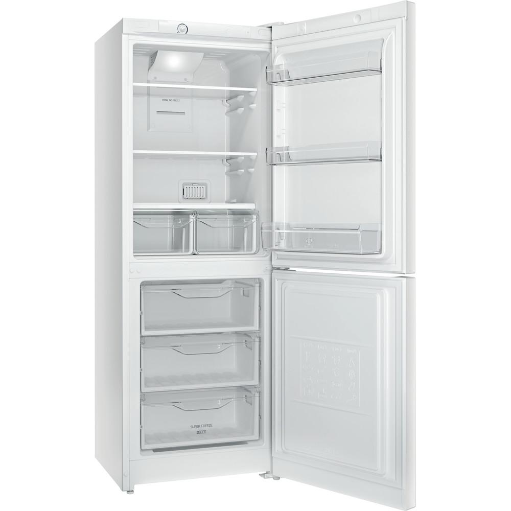 Indesit Холодильник с морозильной камерой Отдельностоящий DFN 16 Белый 2 doors Perspective_Open