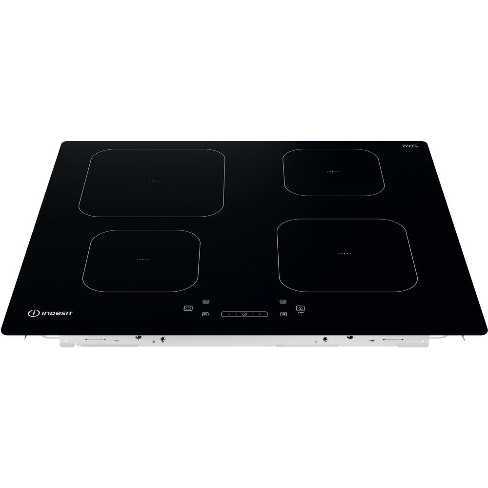 Indesit Ploča za kuhanje IS 83Q60 NE Crna Induction vitroceramic Frontal top down