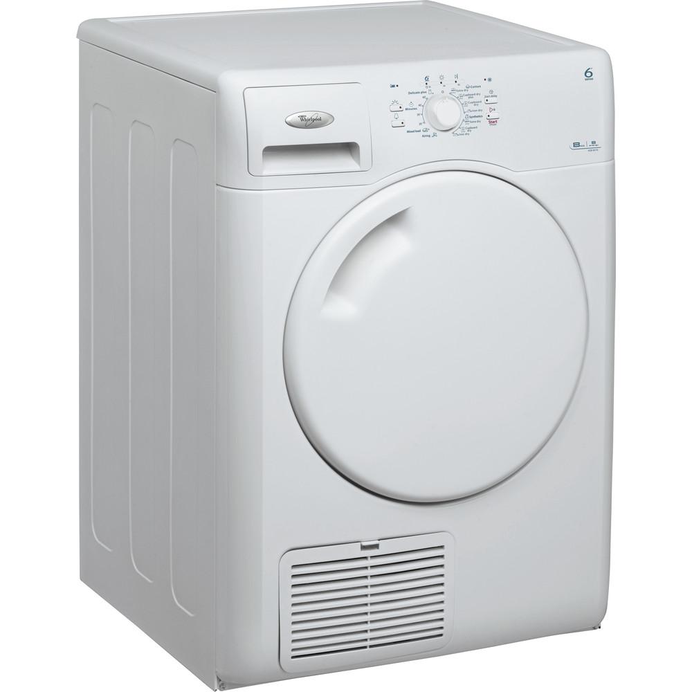 Whirlpool torktumlare: fristående, 8 kg - AZB 8570