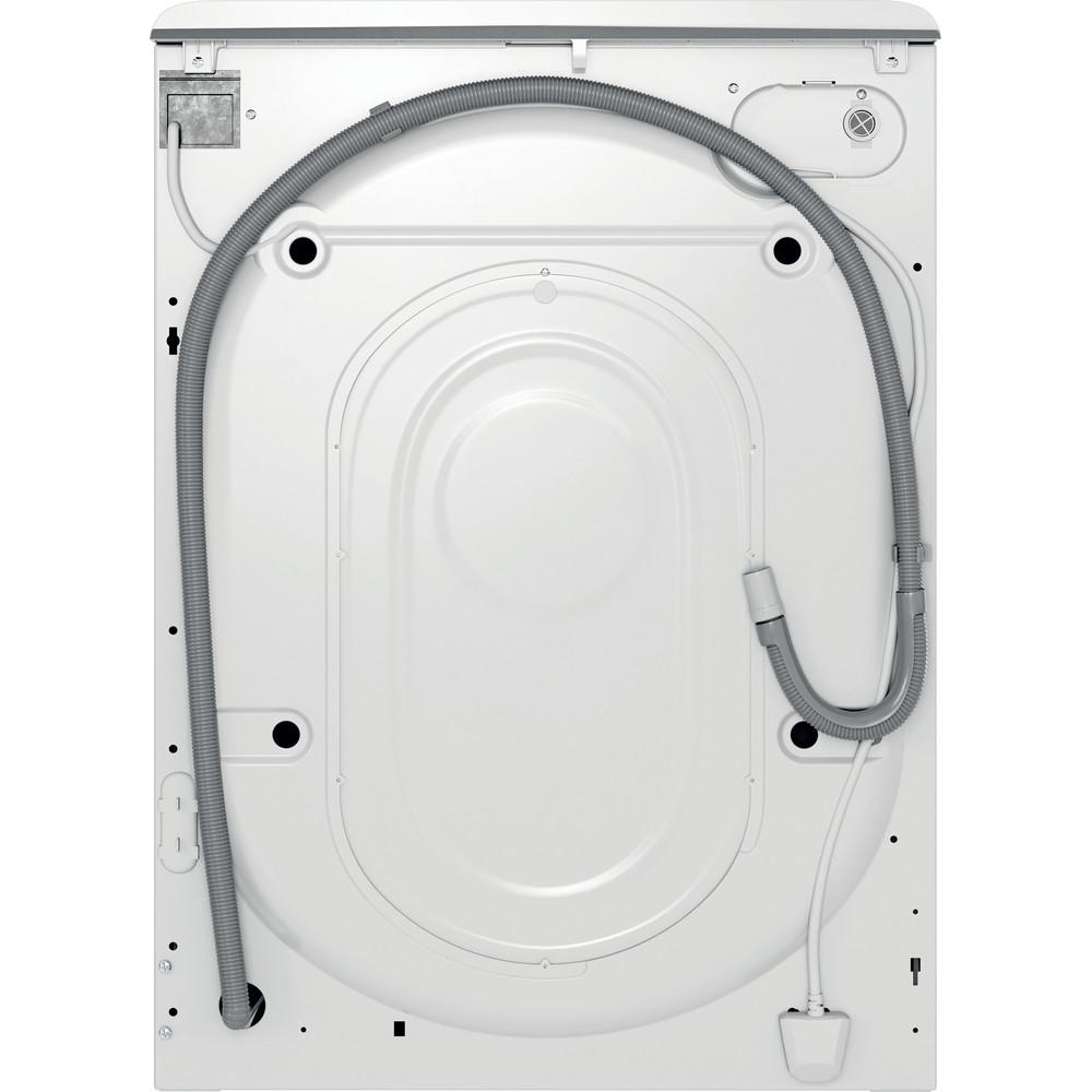 Indsit Maşină de spălat rufe Independent MTWE 81283 WK EE Alb Încărcare frontală D Back / Lateral