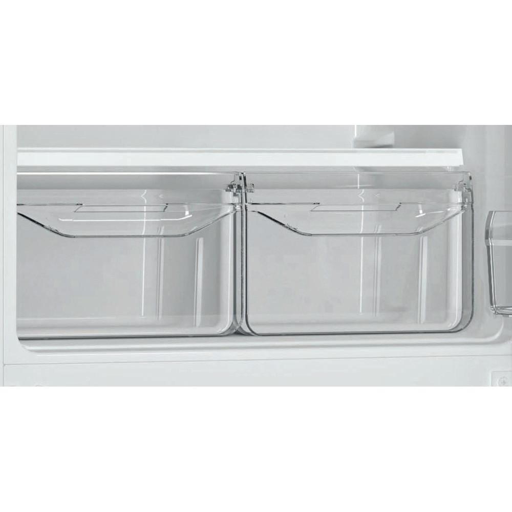 Indesit Холодильник с морозильной камерой Отдельностоящий DS 4160 W Белый 2 doors Drawer
