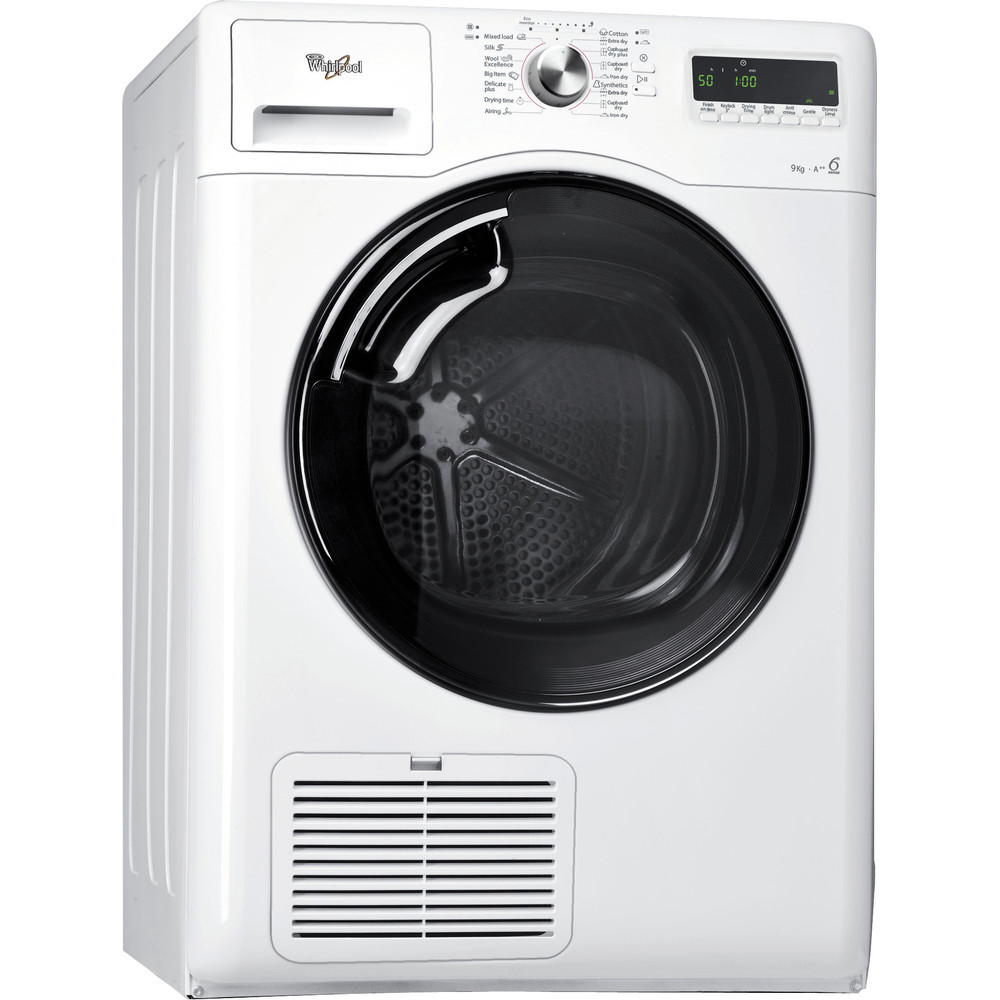 Whirlpool torktumlare: fristående, 9 kg - AZA-HP 983