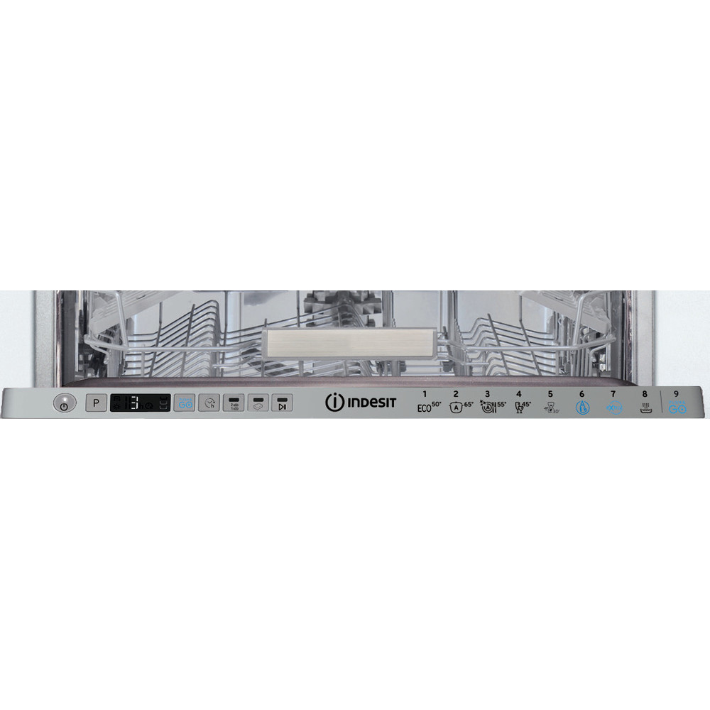 Indesit Dishwasher Built-in DSIO 3T224 E Z UK N Full-integrated A++ Control panel