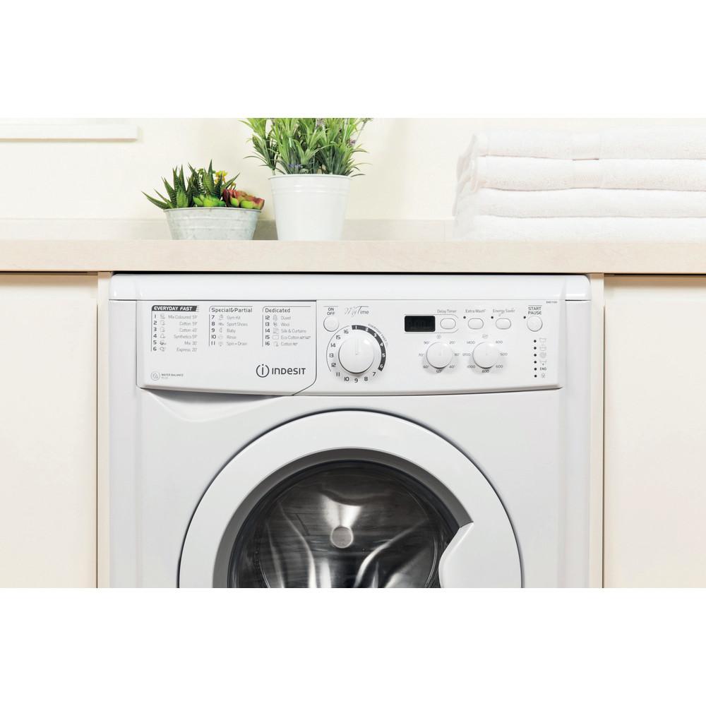 Freestanding Washing Machine Indesit EWD 71452 W UK ...