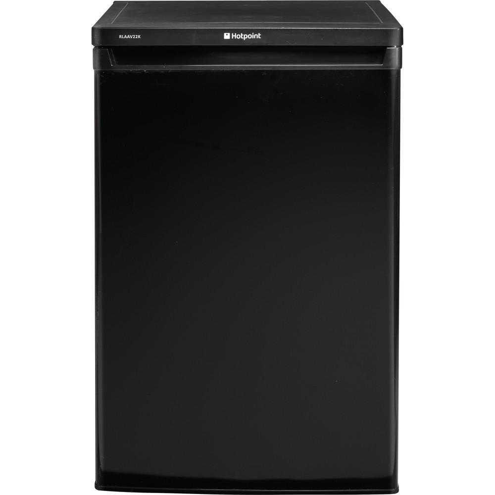 Hotpoint Refrigerator Free-standing RLAAV22K.1 Black Frontal