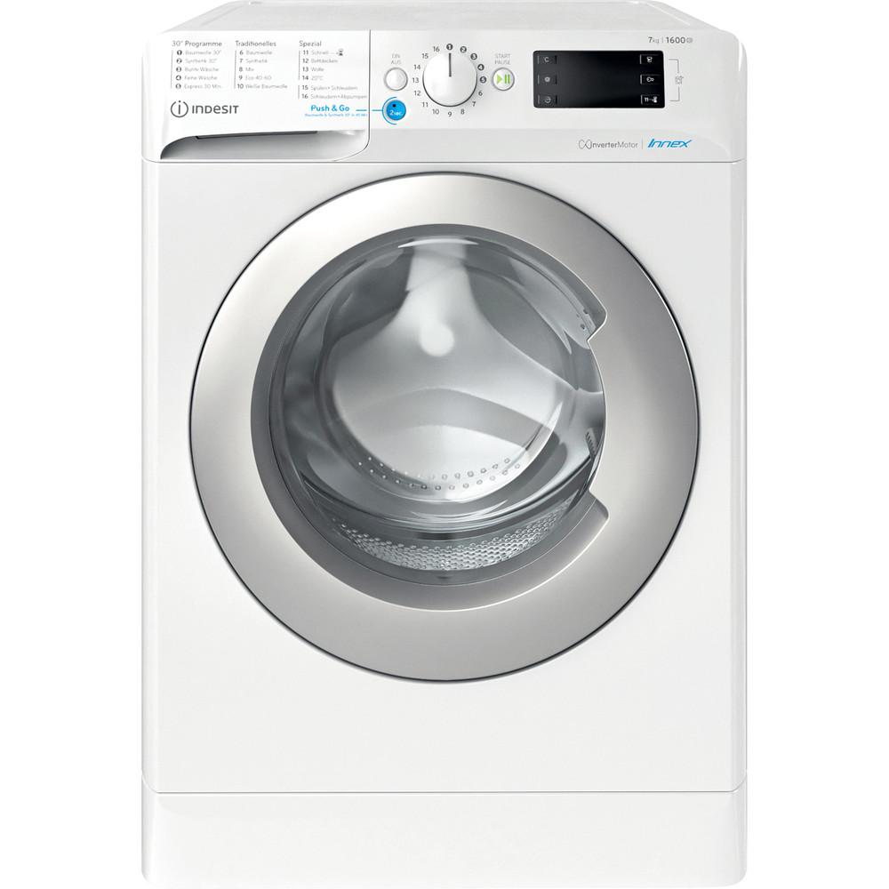 Indesit Waschmaschine Freistehend BWE 71682XE WS DE N Weiß Frontlader E Frontal
