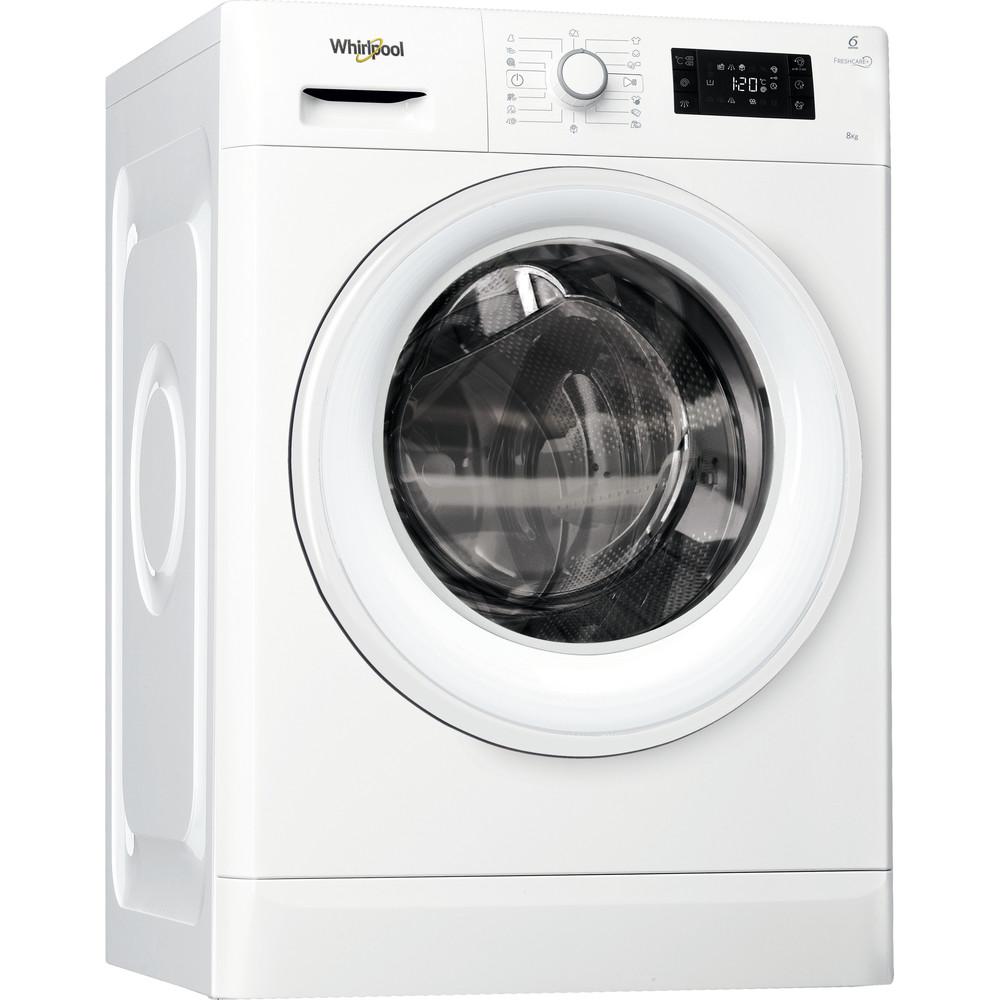Whirlpool frontmatet vaskemaskin: 8 kg - FWG81484W EU