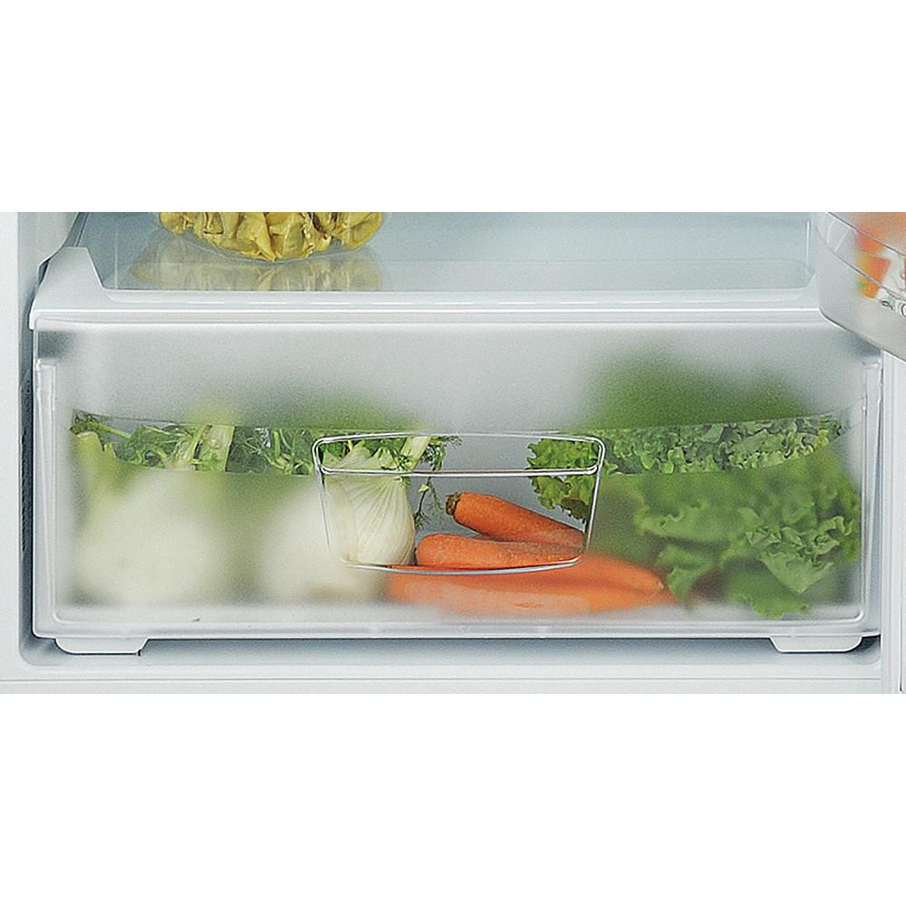 Indesit Комбиниран хладилник с камера Свободностоящи TIAA 12 X.1 Инокс 2 врати Drawer