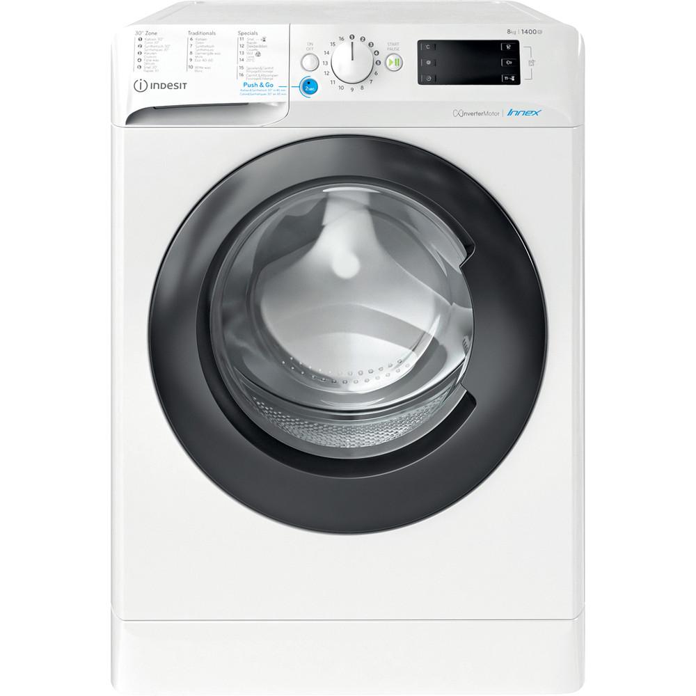Indesit Wasmachine Vrijstaand BWEBE 81484X WK N Wit Voorlader C Frontal