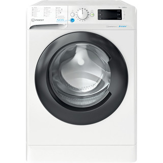 Indesit Lave-linge Pose-libre BWEBE 81484X WK N Blanc Frontal C Frontal
