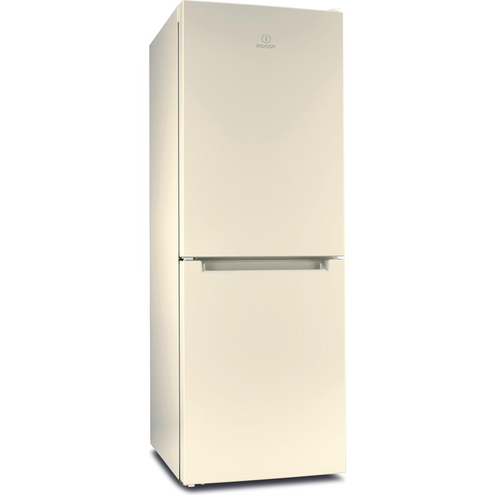 Indesit Холодильник с морозильной камерой Отдельностоящий DF 4160 E Розово-белый 2 doors Perspective
