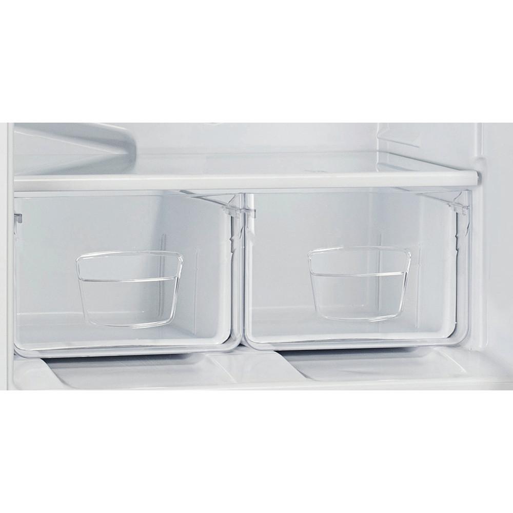 Indesit Холодильник с морозильной камерой Отдельностоящий ES 16 Белый 2 doors Drawer
