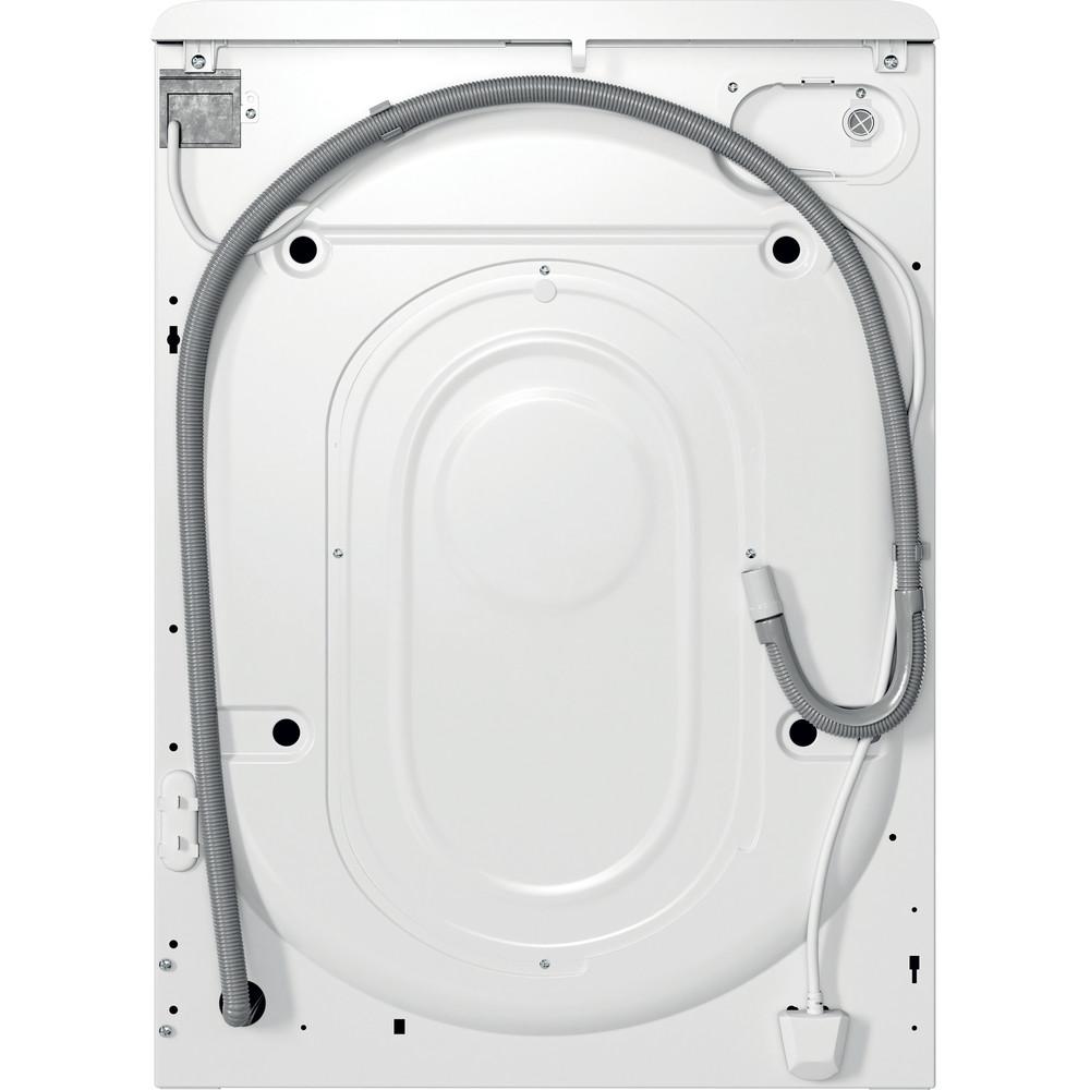 Indesit Waschmaschine Freistehend MTWE 61483E W DE Weiß Frontlader D Back / Lateral