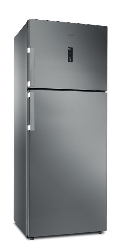 Whirlpool Fridge/freezer combination Samostojni WT70E 831 X Optic Inox 2 doors Perspective