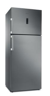 Whirlpool szabadonálló felülfagyasztós dupla ajtós hűtőszekrény: fagymentes - WT70E 831 X