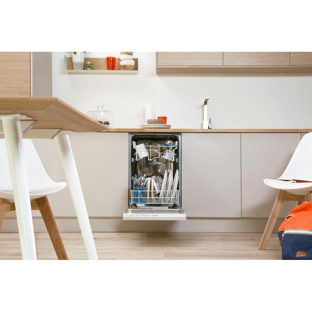 Indesit Посудомийна машина Вбудований (-а) DISR 14B EU Вбудована A Lifestyle frontal open