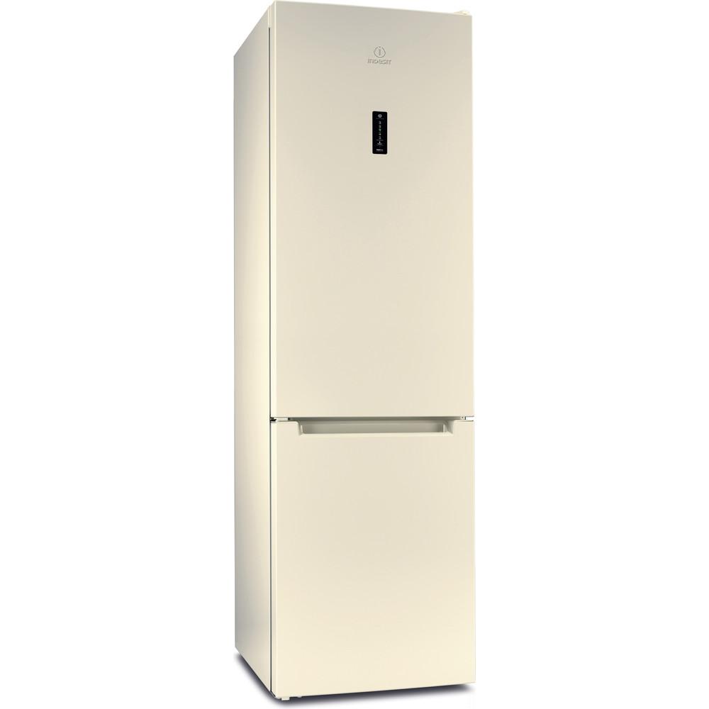 Indesit Холодильник с морозильной камерой Отдельностоящий DF 5200 E Розово-белый 2 doors Perspective