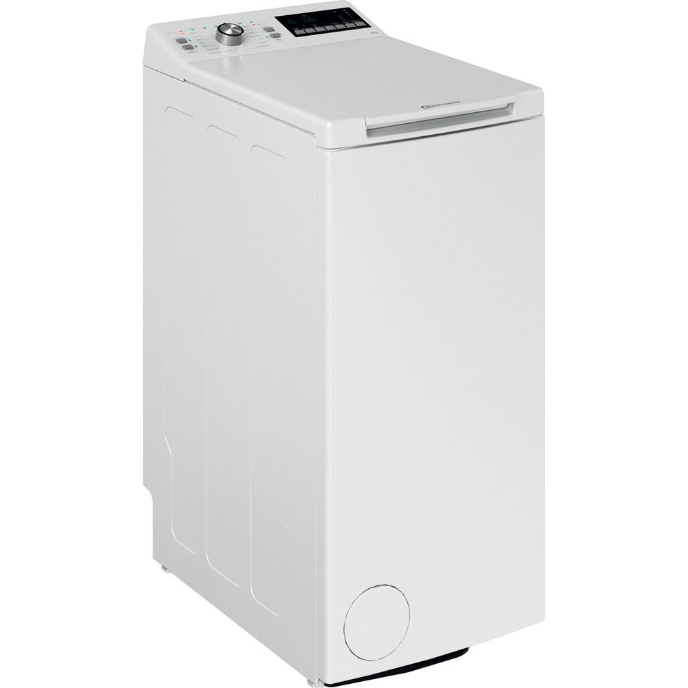 Bauknecht Waschmaschine Standgerät WAT 619 EX N Weiss Toplader D Perspective