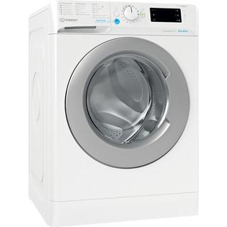 Indesit Waschmaschine Freistehend BWE 71483XE WS DE N Weiß Frontlader D Perspective