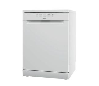 Съдомиялна Whirlpool: бял цвят, пълен размер - WFE 2B19