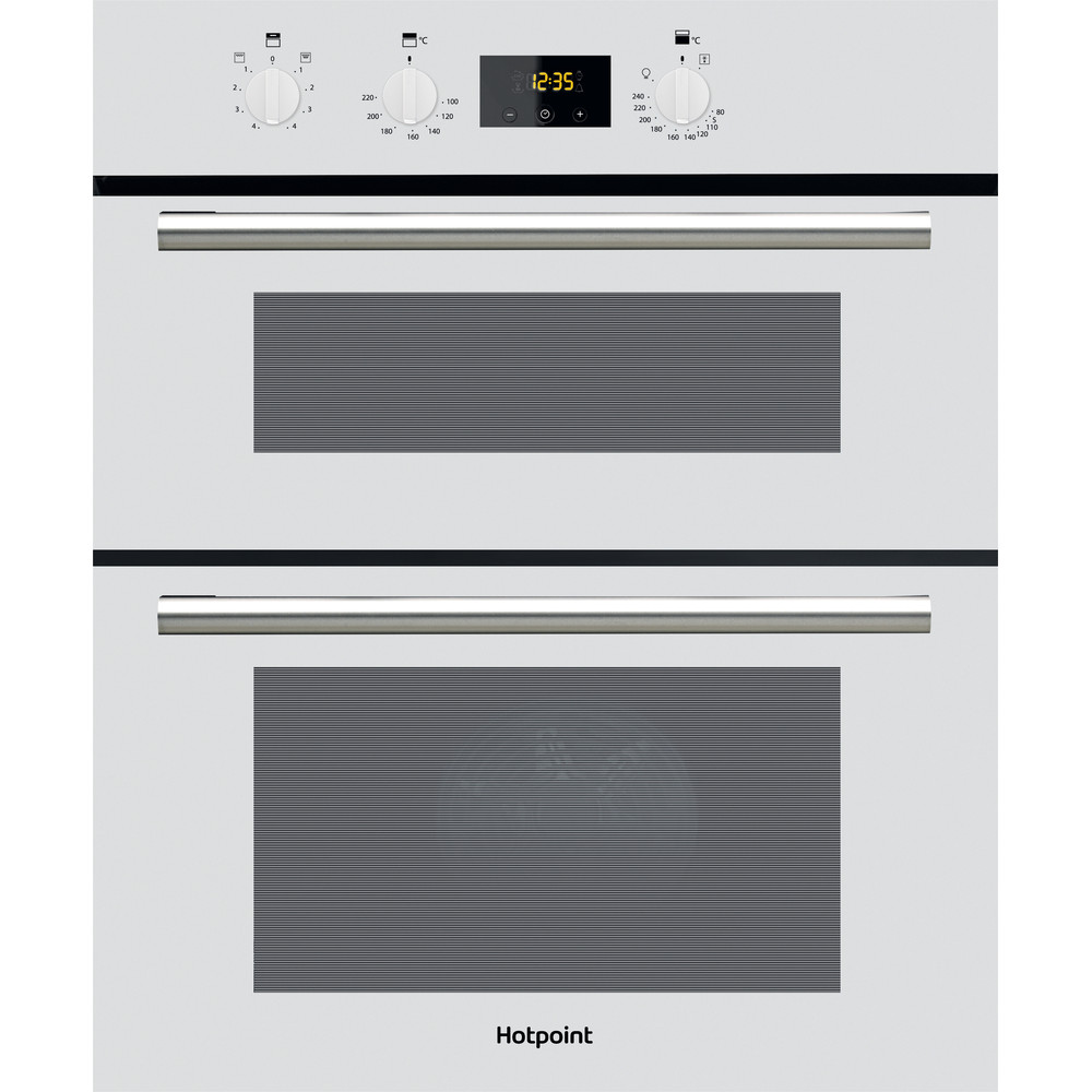 Hotpoint Double oven DU2 540 WH White A Frontal
