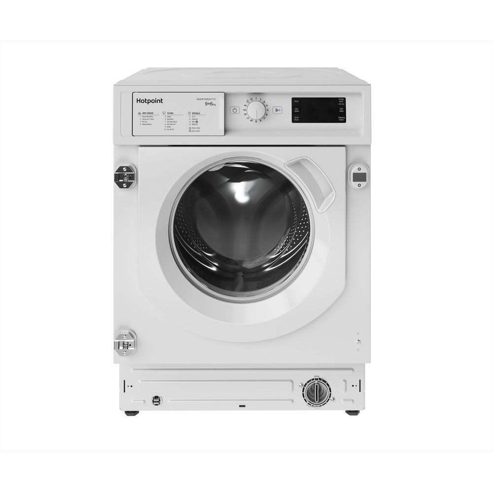 Hotpoint Washer dryer Built-in BI WDHG 961484 UK White Front loader Frontal