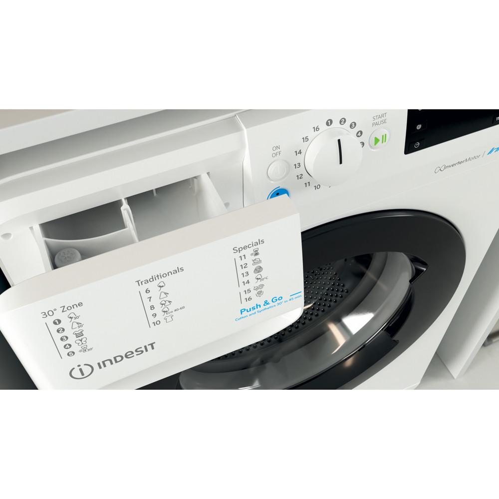 Indesit Wasmachine Vrijstaand BWE 81683X WK EU N Wit Voorlader D Drawer