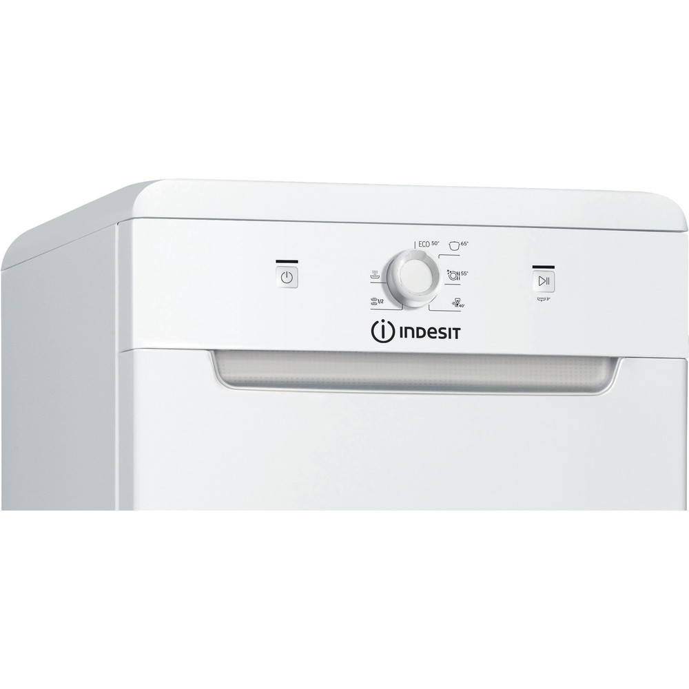Indesit Dishwasher Free-standing DSFE 1B10 UK Free-standing F Control panel