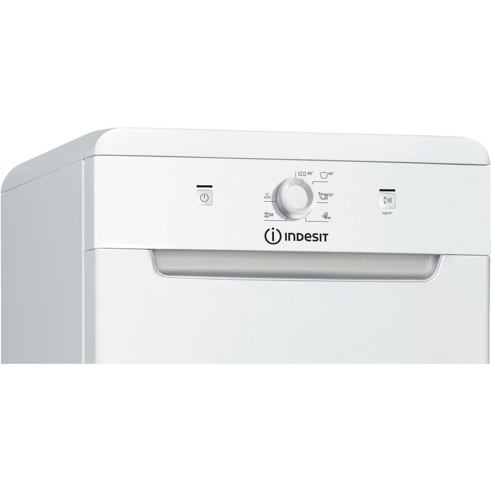 Indesit Dishwasher Free-standing DSFE 1B10 UK N Free-standing F Control panel
