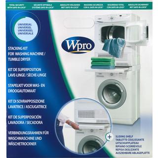 Universal stableramme for vask og tørk - med uttrekkbar hylle -
