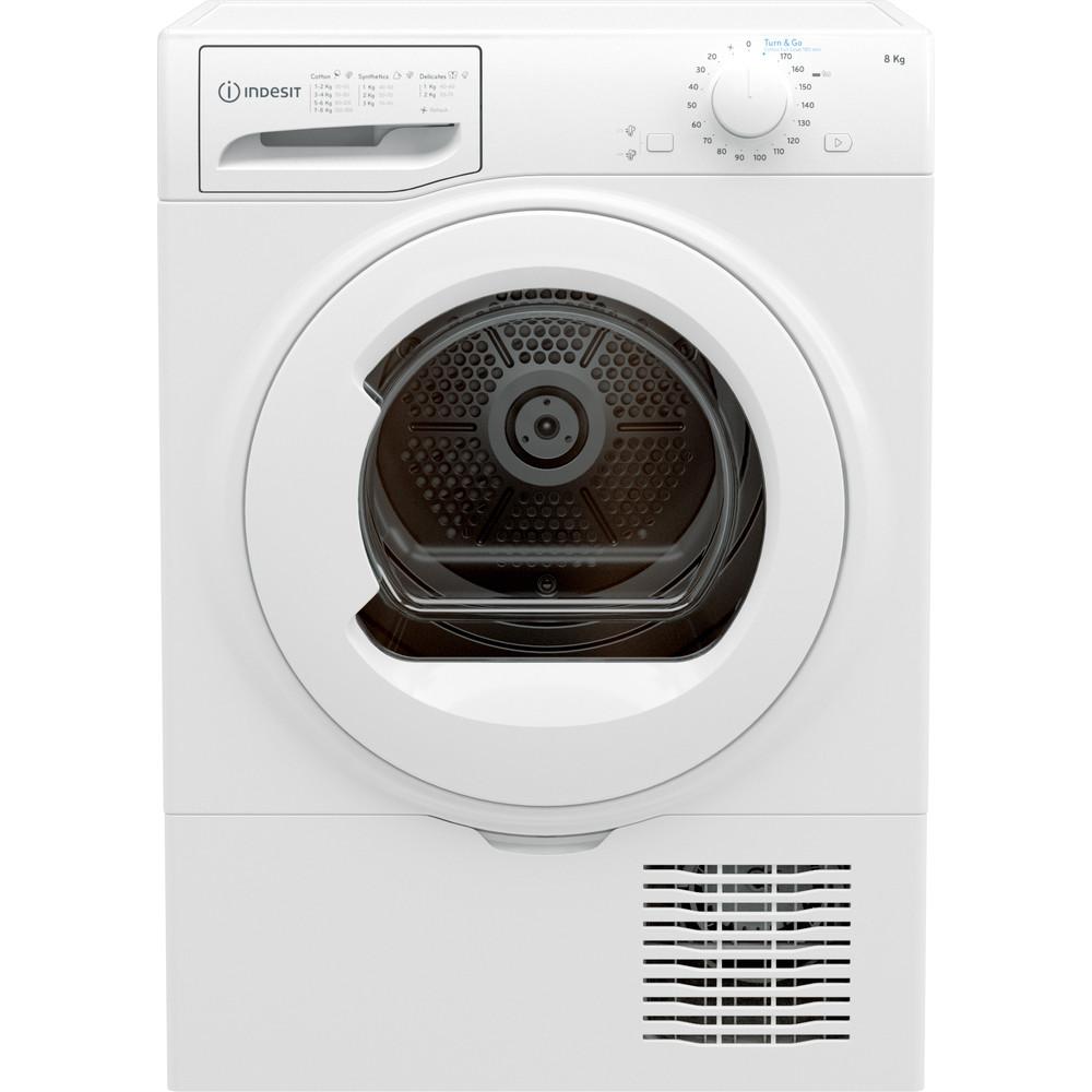 Indesit Dryer I2 D81W UK White Frontal