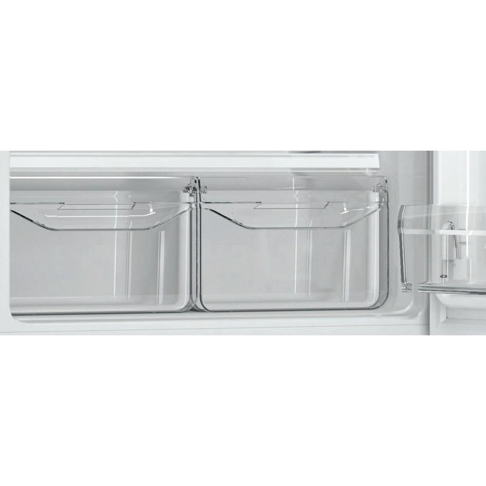 Indesit Холодильник с морозильной камерой Отдельностоящий DSN 18 Белый 2 doors Drawer