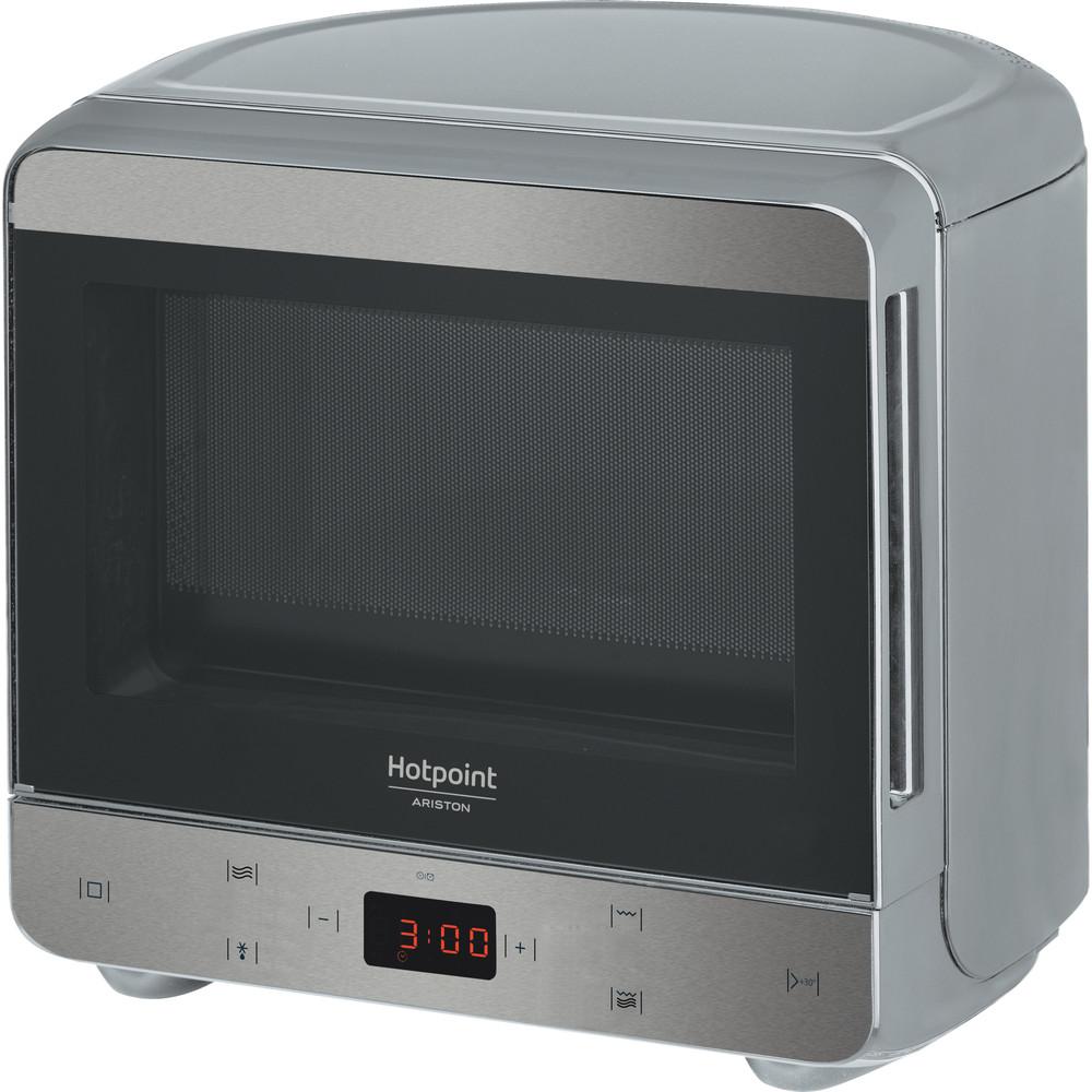 Hotpoint_Ariston Микроволновая печь Отдельностоящий MWHA 1332 X Нержавеющая сталь Электронное 13 Микроволновая печь с функцией гриля 700 Perspective
