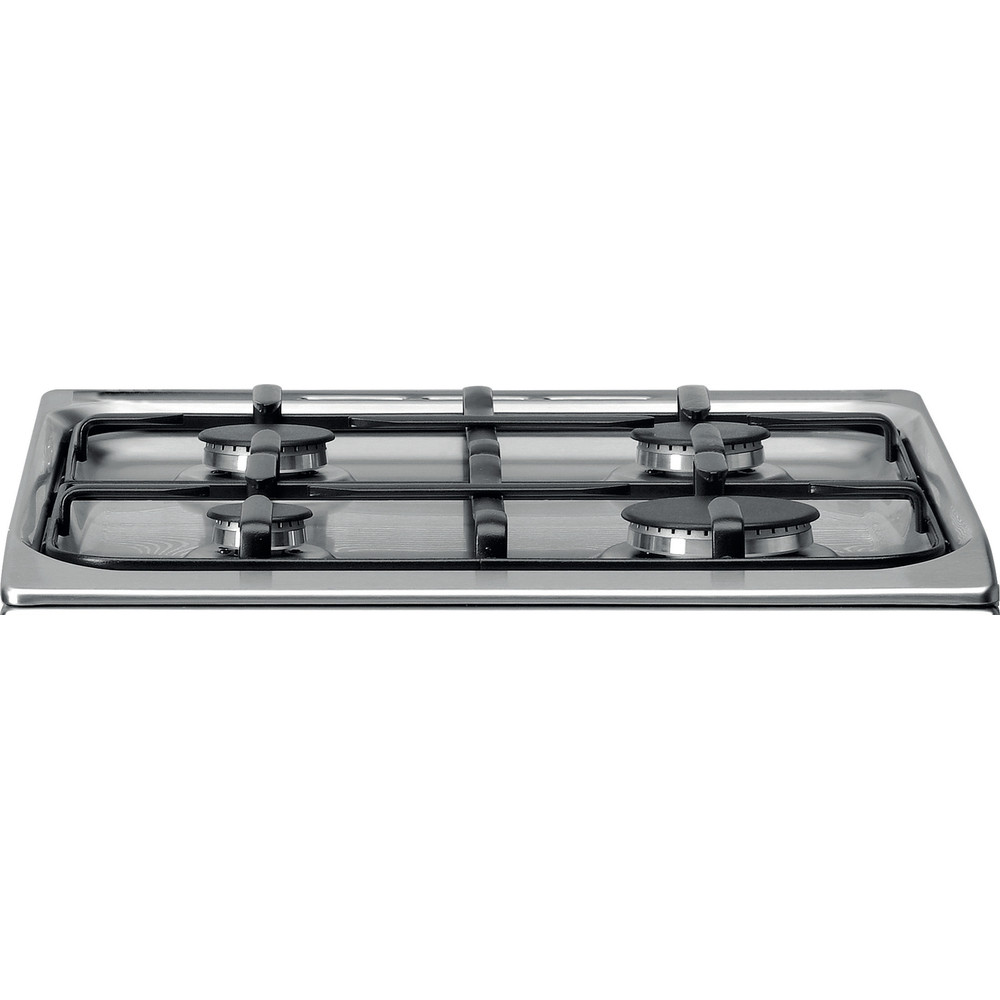 Indesit Cucina con forno a doppia cavità IS5G4KHX/IT Bianco GAS Frontal top down