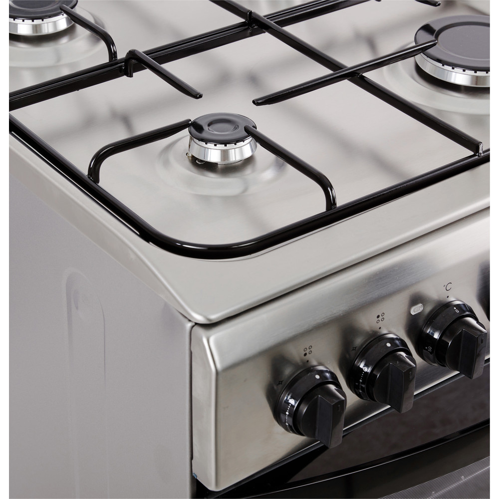 Indesit Fornuis IS5G5PHX/NL Rvs Gas Heating element